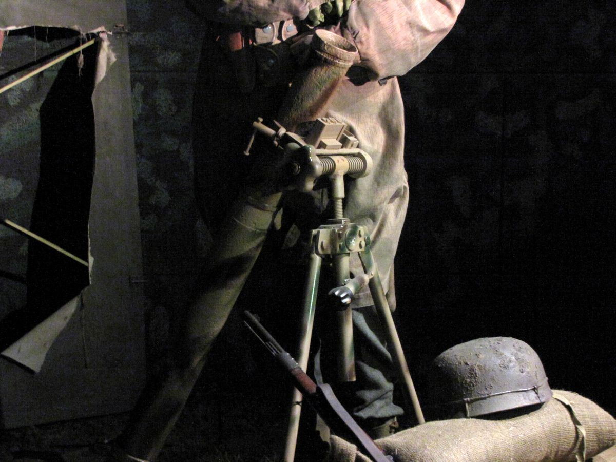 Mortier de 81mm (Granat-Werfer 34), musée Airborne