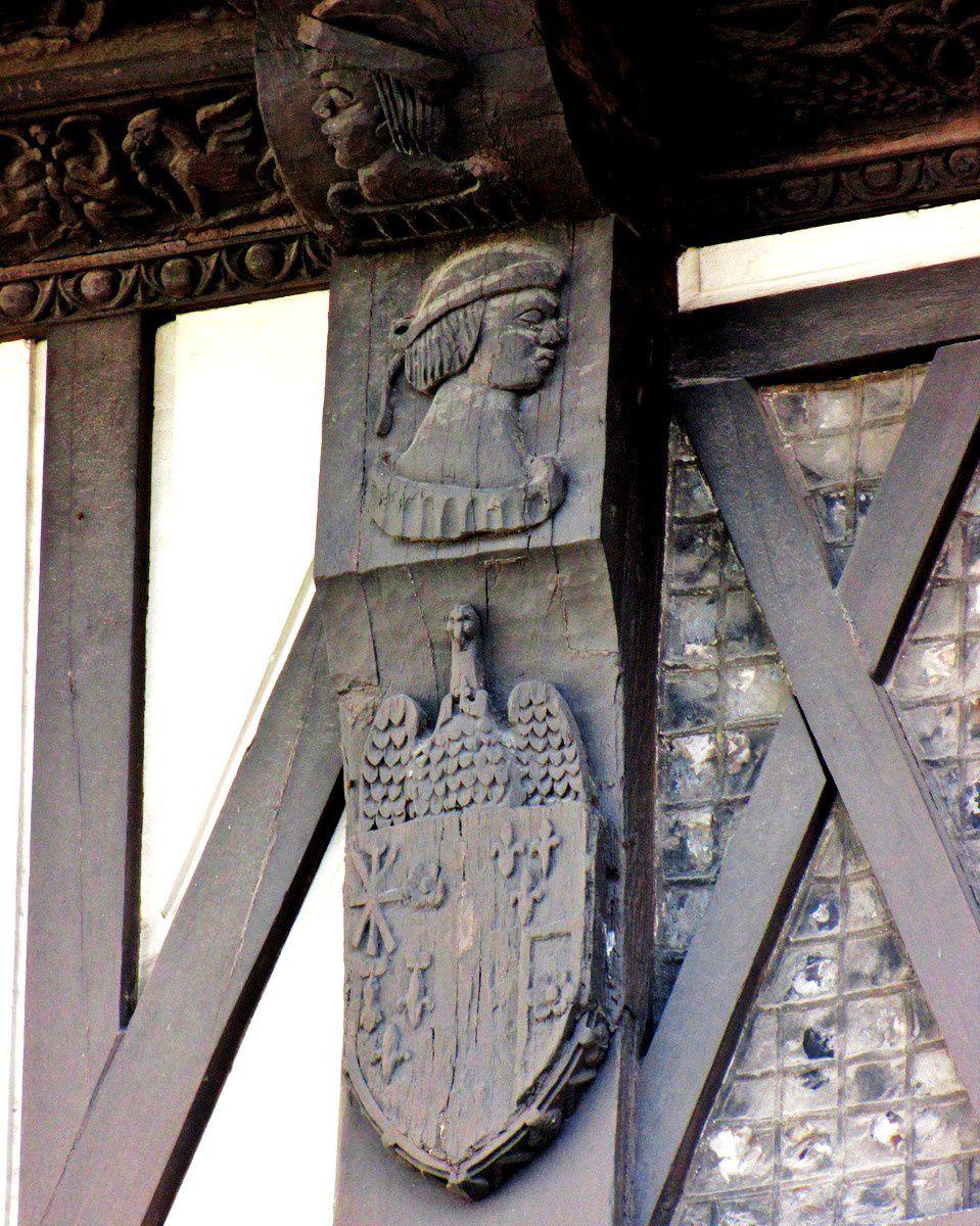 Le presbytère de l'église Saint Jacques du Tréport,