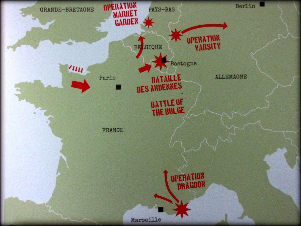 """Tenue de parachutiste US de l'Opération """" Dragoon """""""