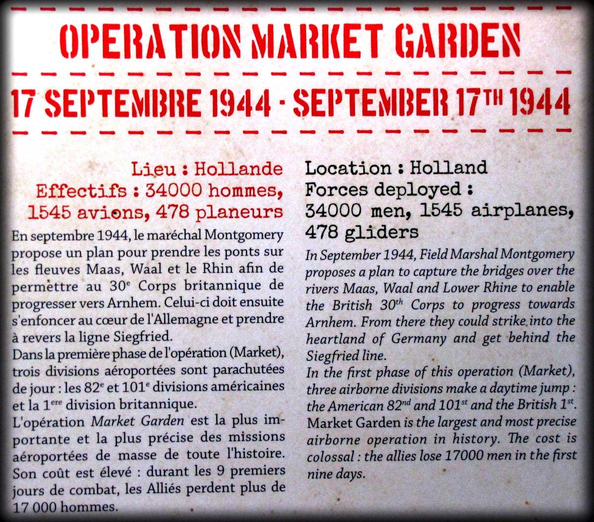 """Tenue de parachutiste US de l'Opération """" Market Garden """""""