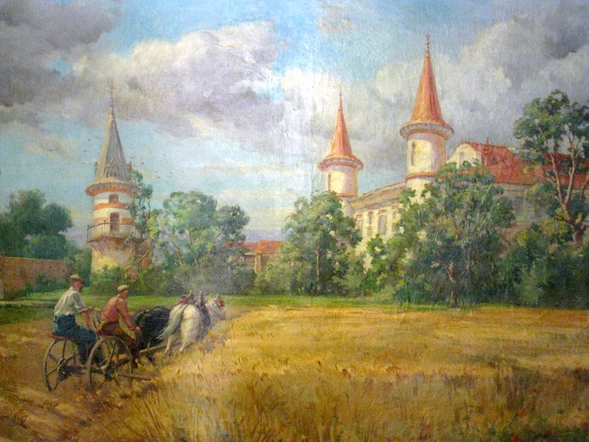 Henri Jaubert, le château Royer aux Siéyes