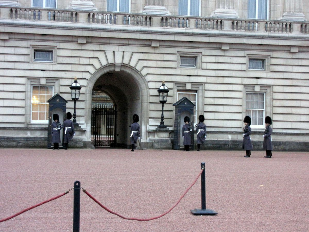 Relève de la Garde au Palais de Buckingham