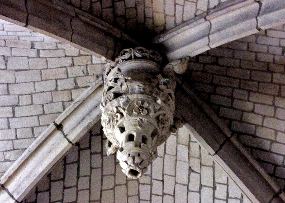 Clefs de voûte (1/2), Eglise Saint Jacques du Tréport