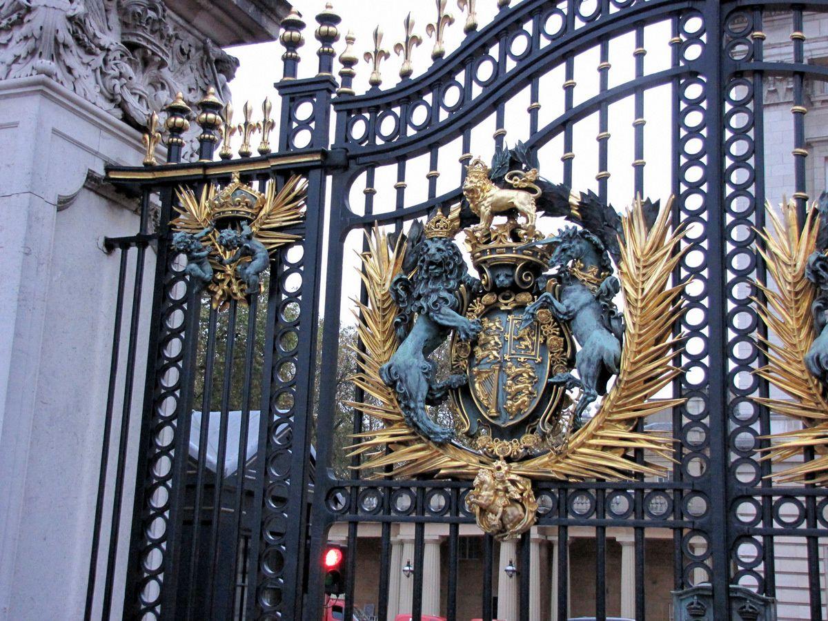 Portails de Buckingham Palace (1/2), Londres