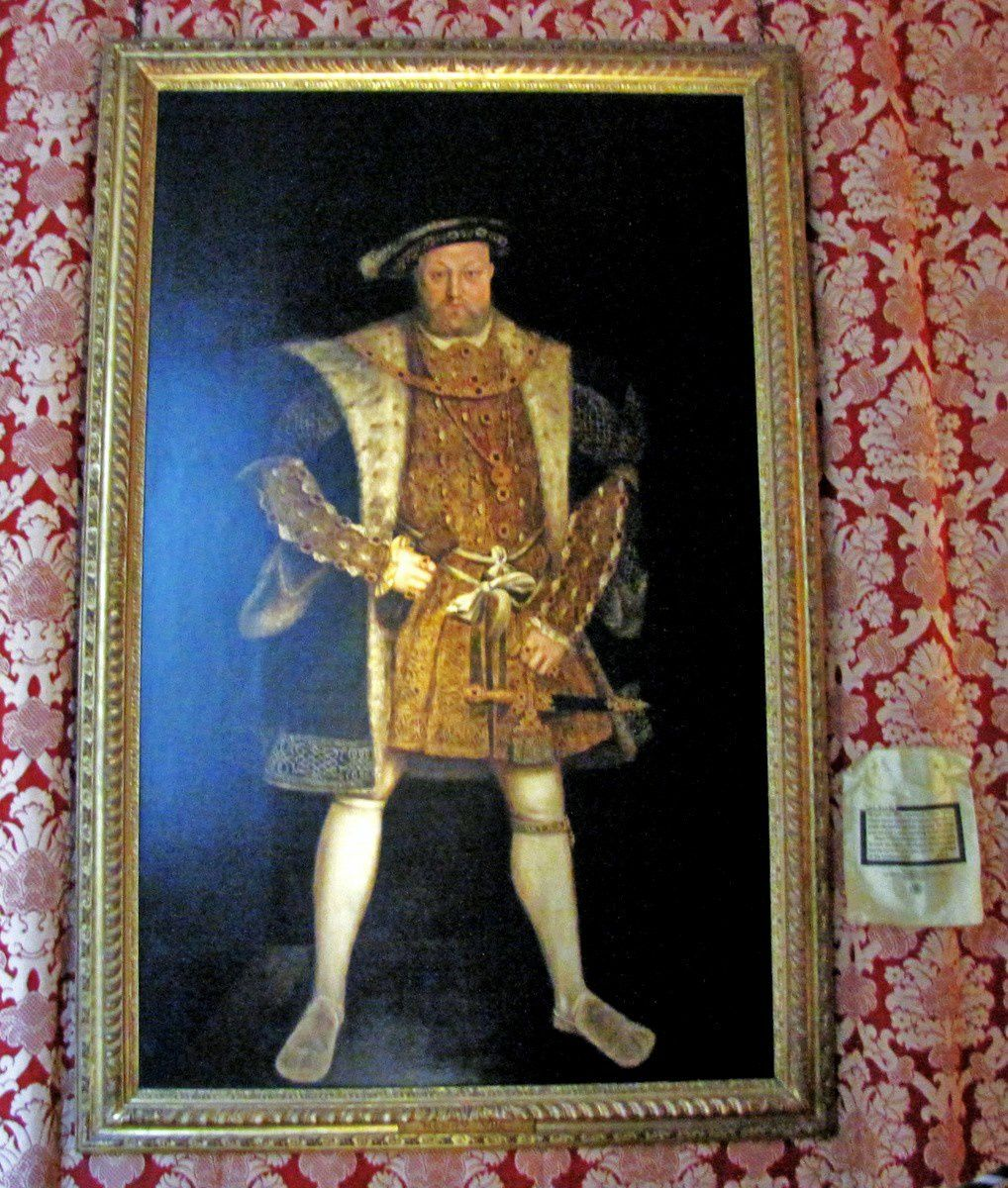 Henri VIII, Hampton Court Palace