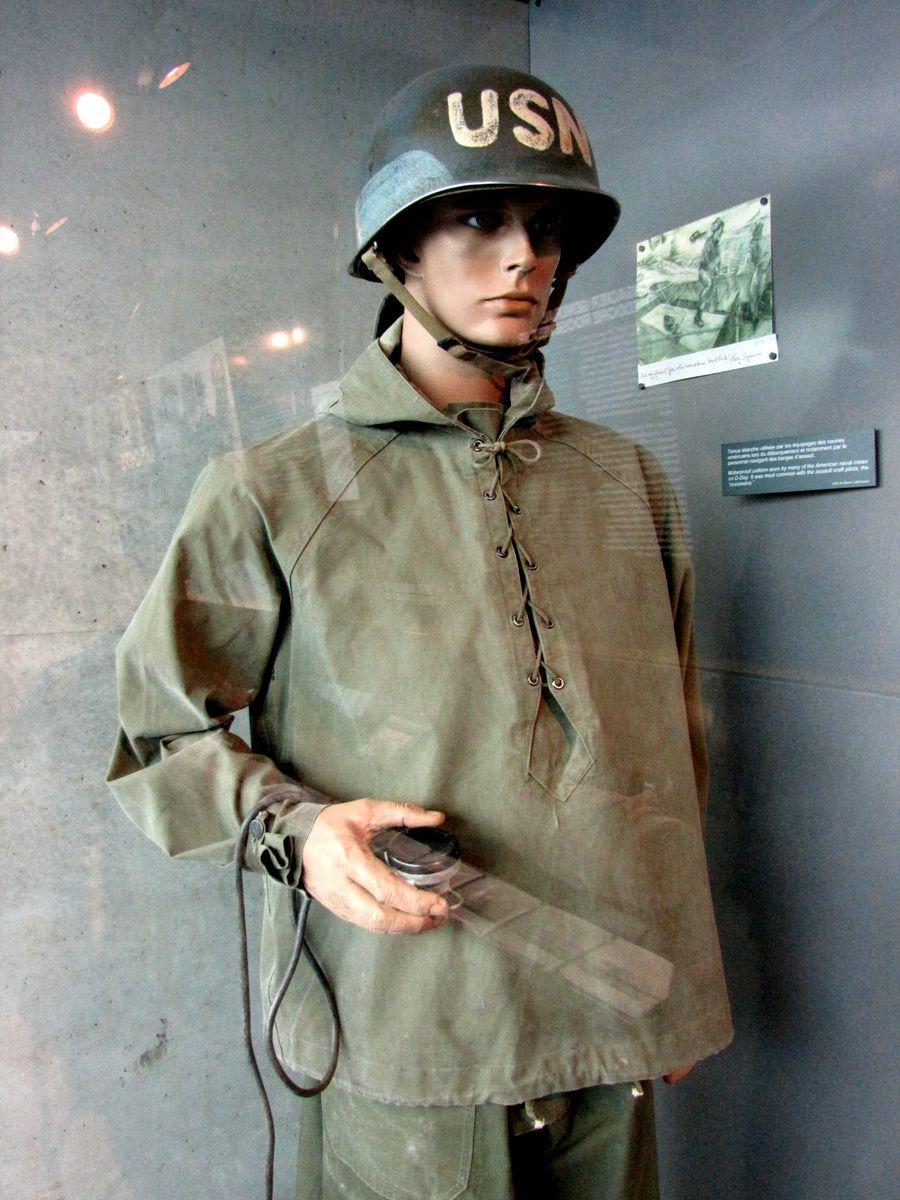 Débarquement en Normandie, tenue étanche des équipages américains