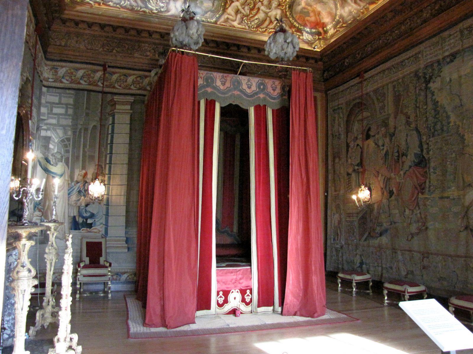 Chambre à coucher du roi , Hampton Court Palace