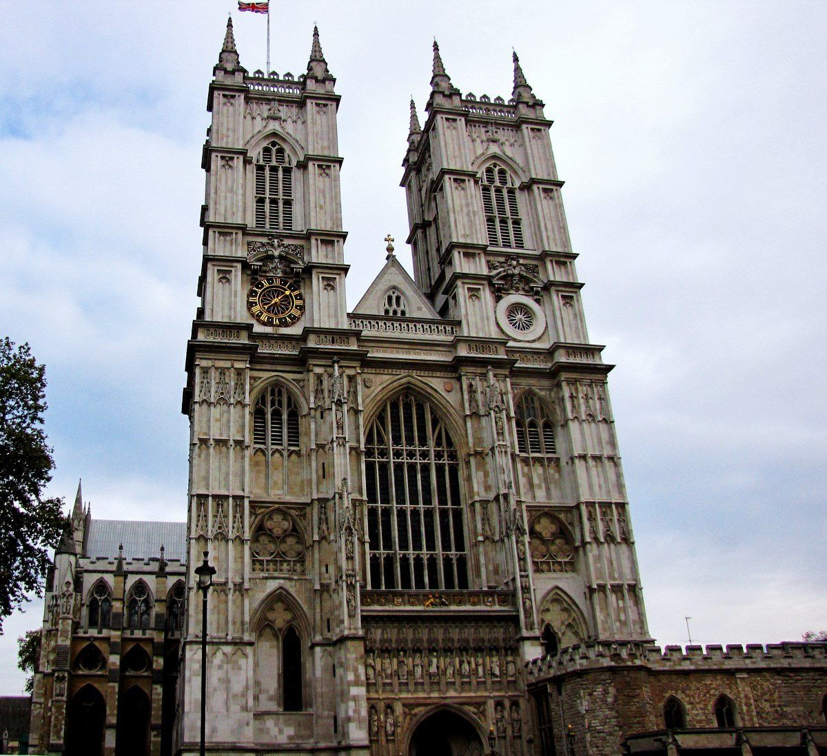Westminster abbey et son cloître, Londres