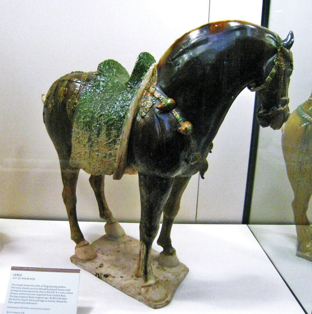 Cheval (dynastie Tang), Victoria and Albert Museum à Londres