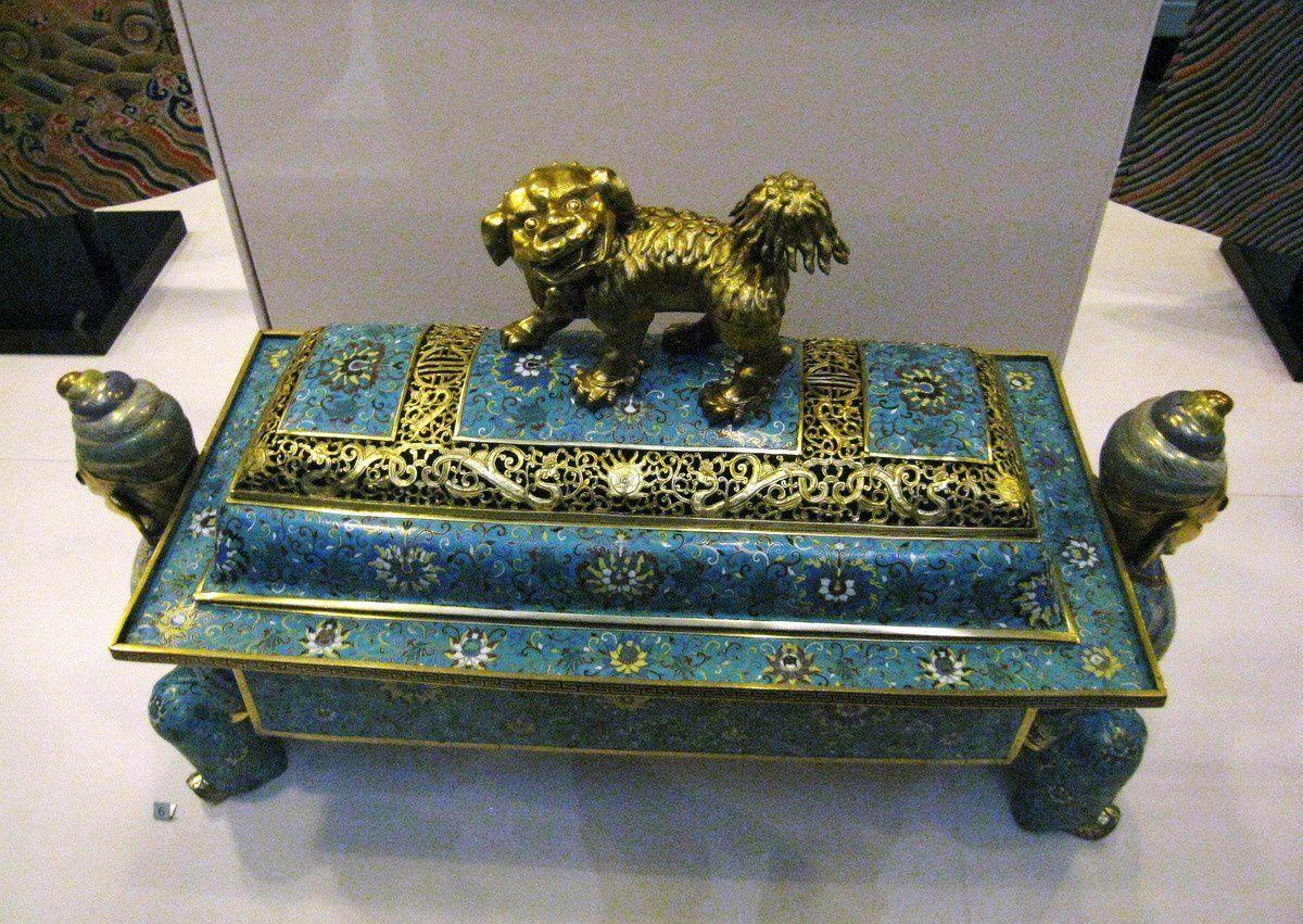 Coffre pour glace, dynastie Qing