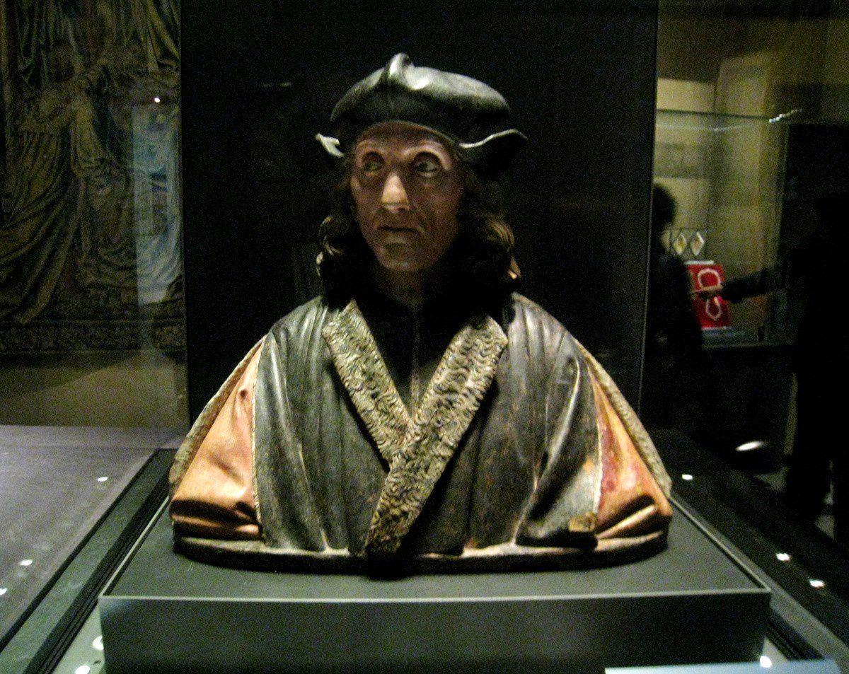Buste de Henry VII (roi d'Angleterre)