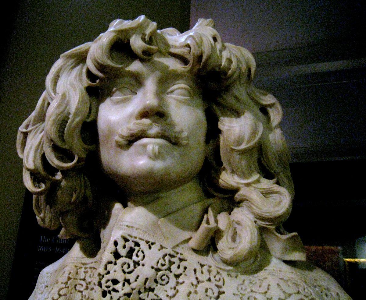 Buste de Thomas Baker par Gianlorenzo Bernini
