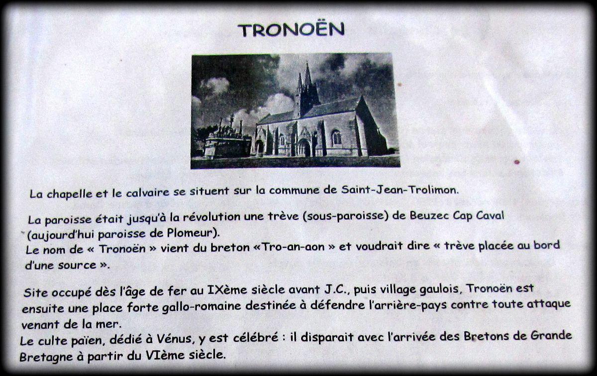 Sainte Barbe et saint Maudet, chapelle de Tronoën