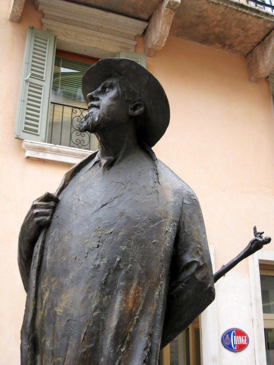 Berto Barbarani (poète), Vérone