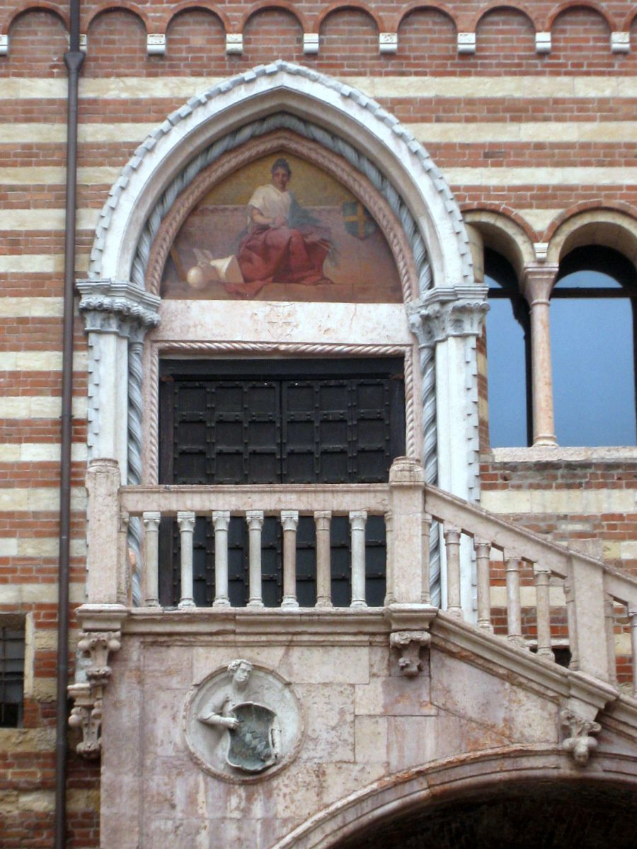 Scala della Ragione (Escalier de la Raison), Vérone