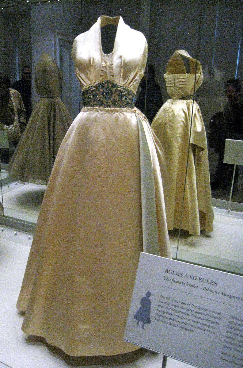Robes de la Princesse Margaret, Palais de Kensington