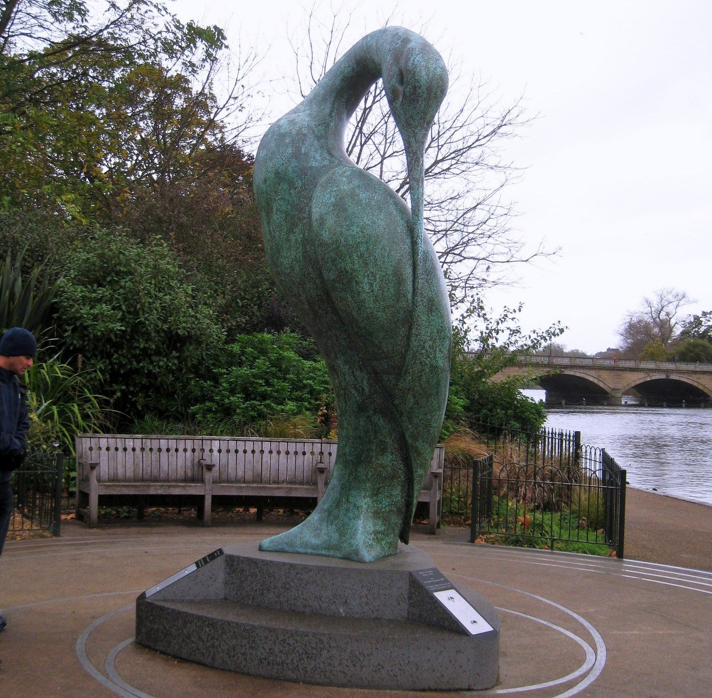 Isis, sculpture de Simon Gudgeon à Hyde Park