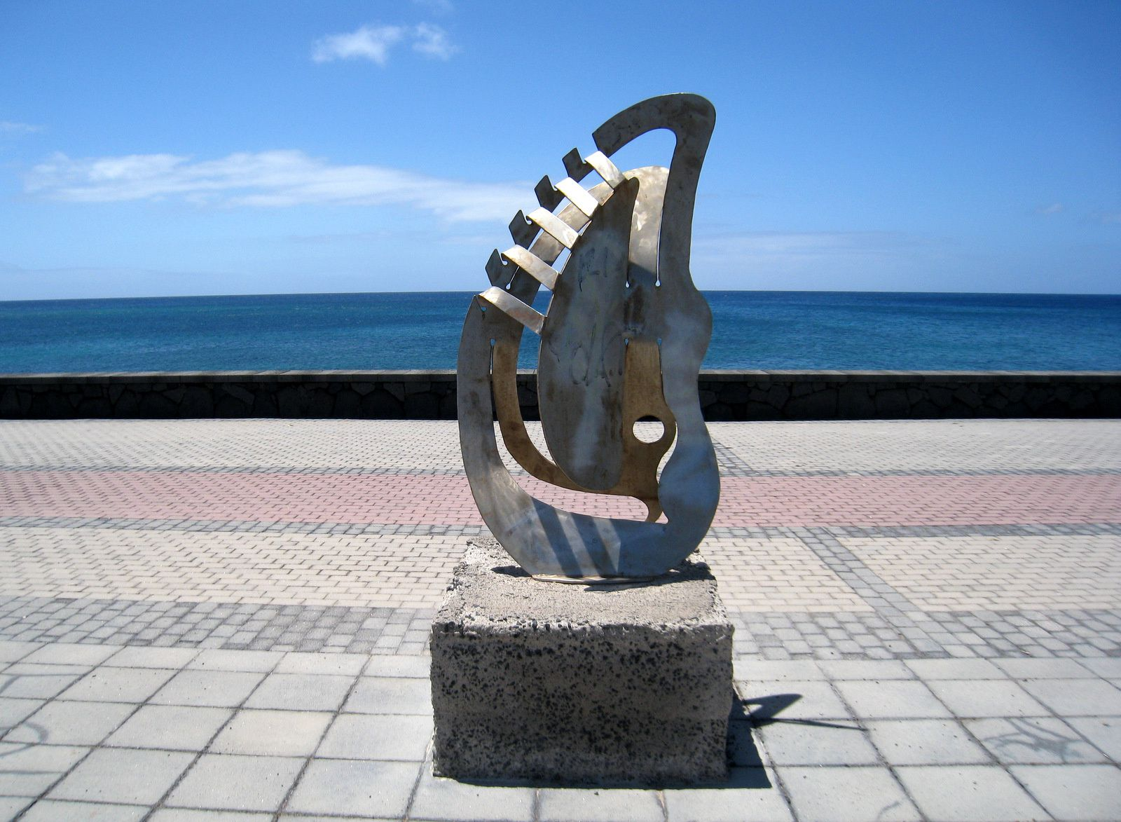 Sculptures à Arrecife (île de Lanzarote), 3/3