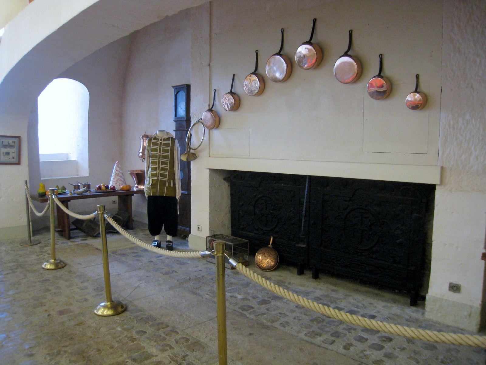 Cuisines du château de Maisons-Laffitte