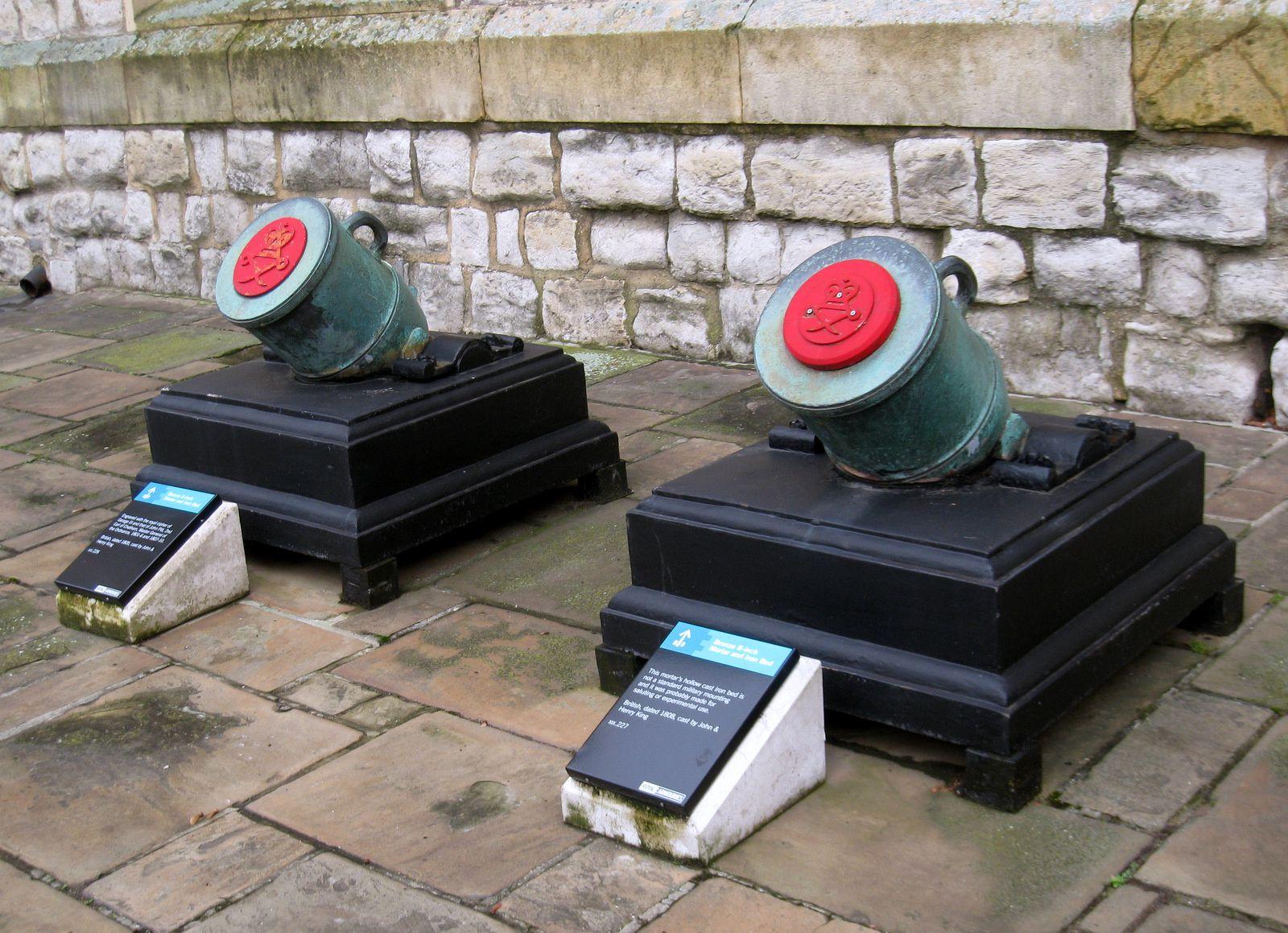 Canon de campagne de 25 livres, Tour de Londres