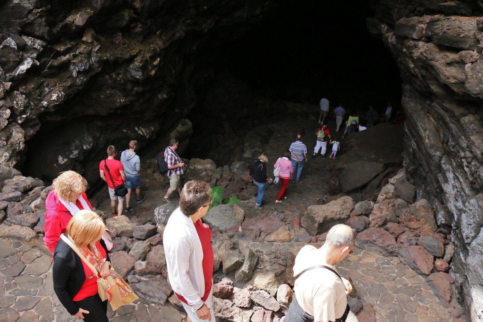 Cueva de los Verdes, Lanzarote (Canaries)