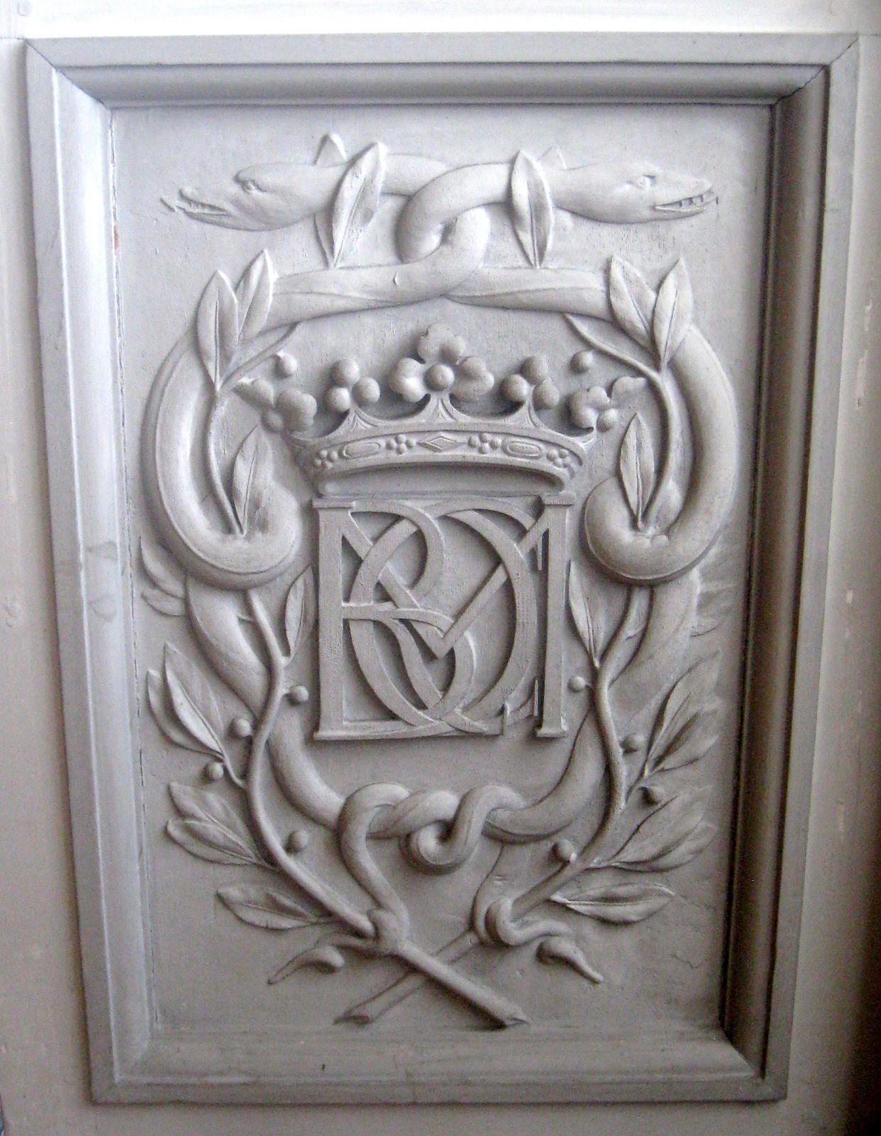 Chambre du Roi du château de Maisons-Laffitte, armoire néo-Boulle