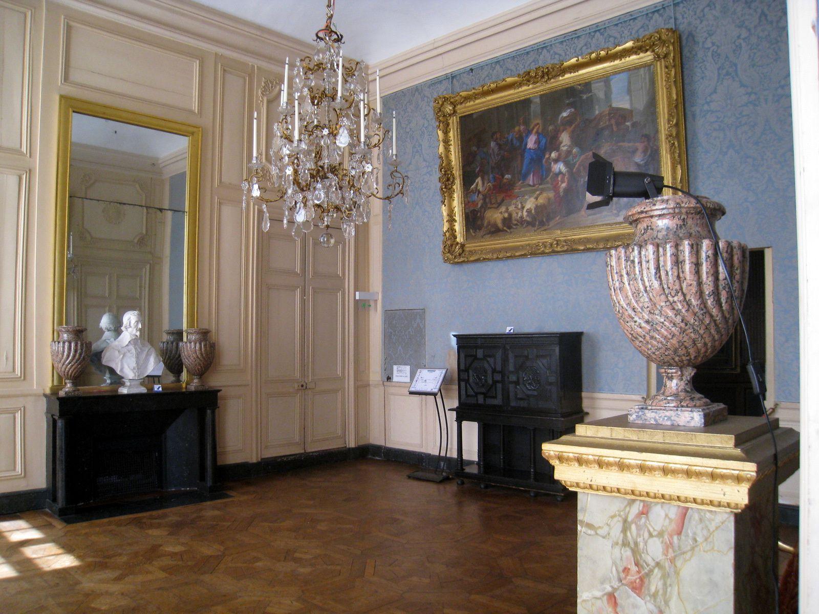 Le Grand cabinet à l'italienne, château de Maisons-Laffitte