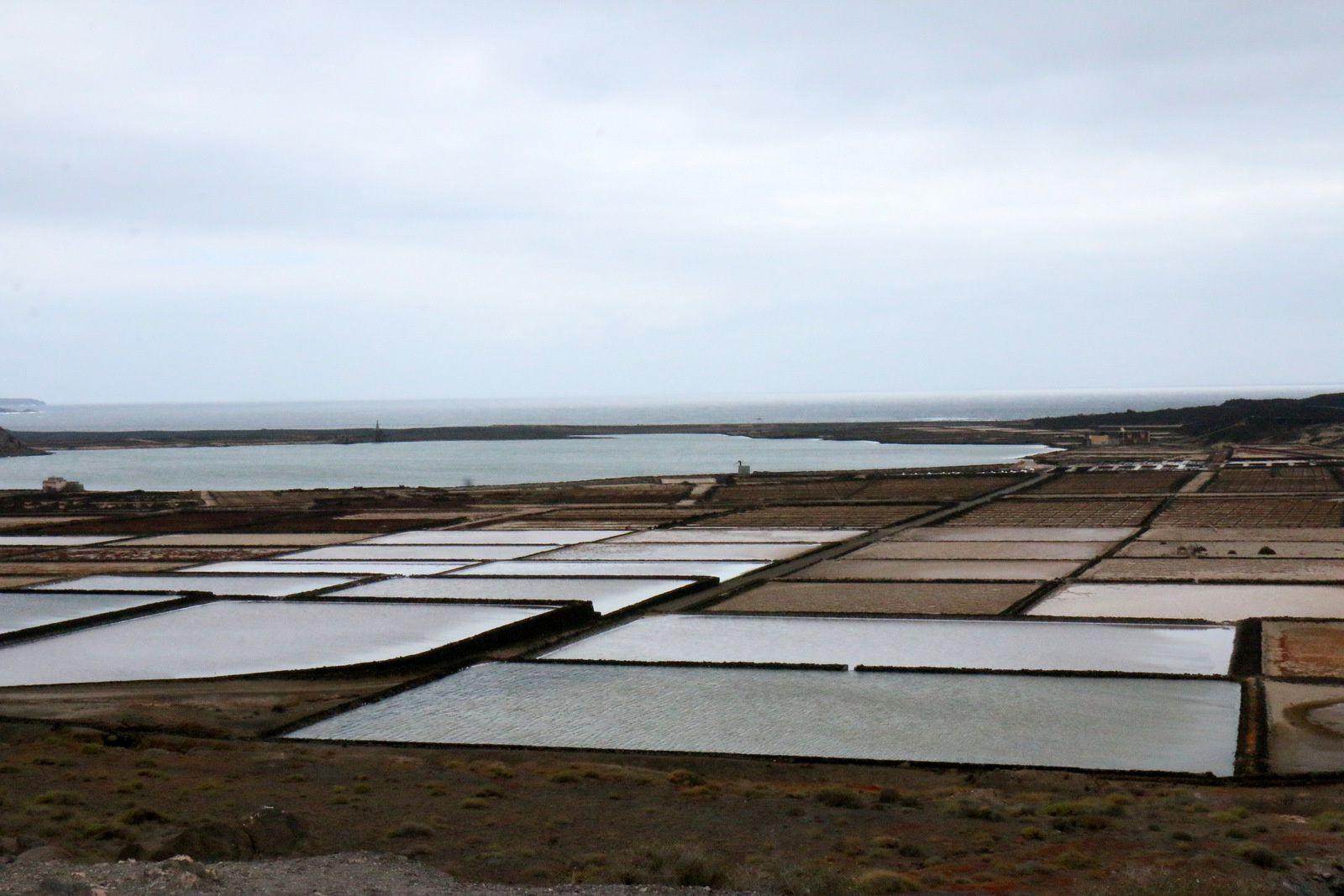 Salins de Janubio, île de Lanzarote (Canaries)