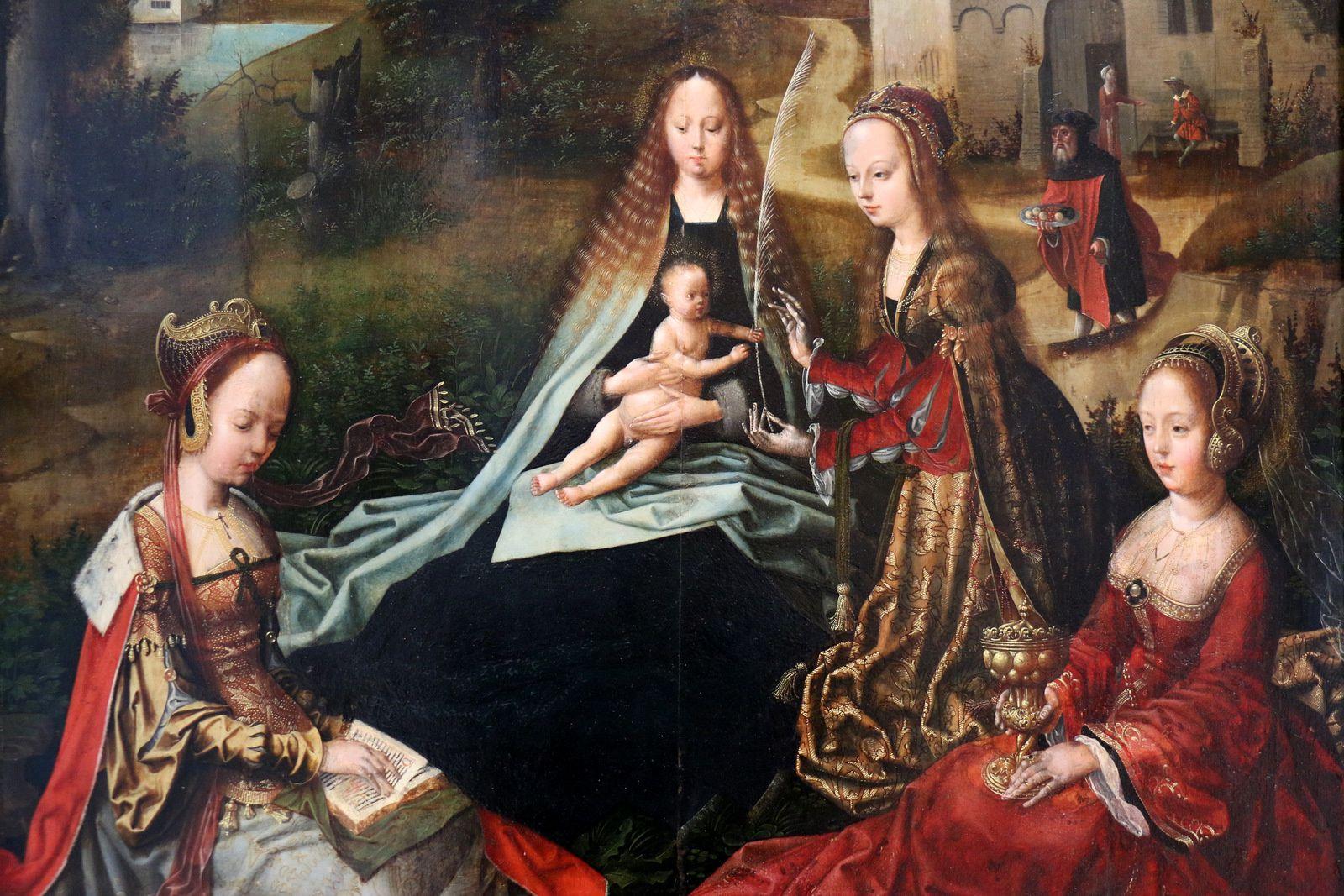 La Vierge et l'Enfant ...,  musée des Beaux-Arts de Caen