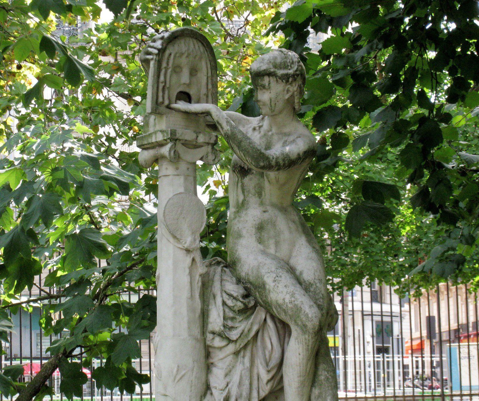 La Bocca della verita, sculpture de Jules Blanchard