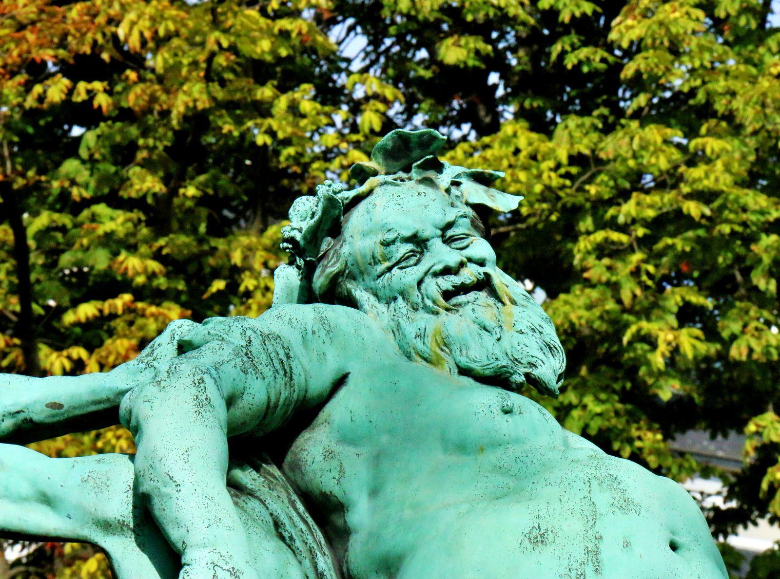 Le Triomphe de Silène, groupe sculpté de Jules Dalou