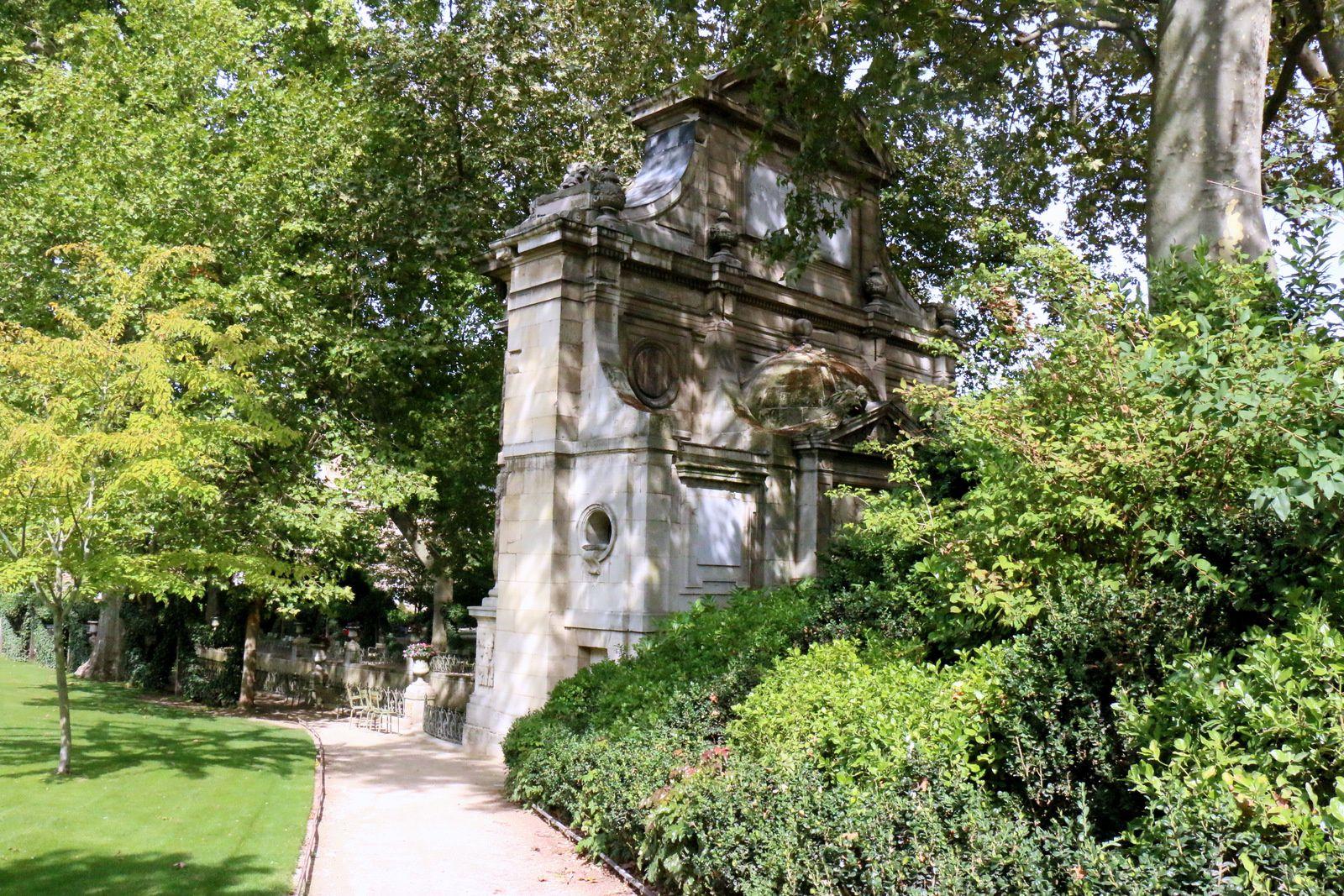 La fontaine Médicis, jardin du Luxembourg