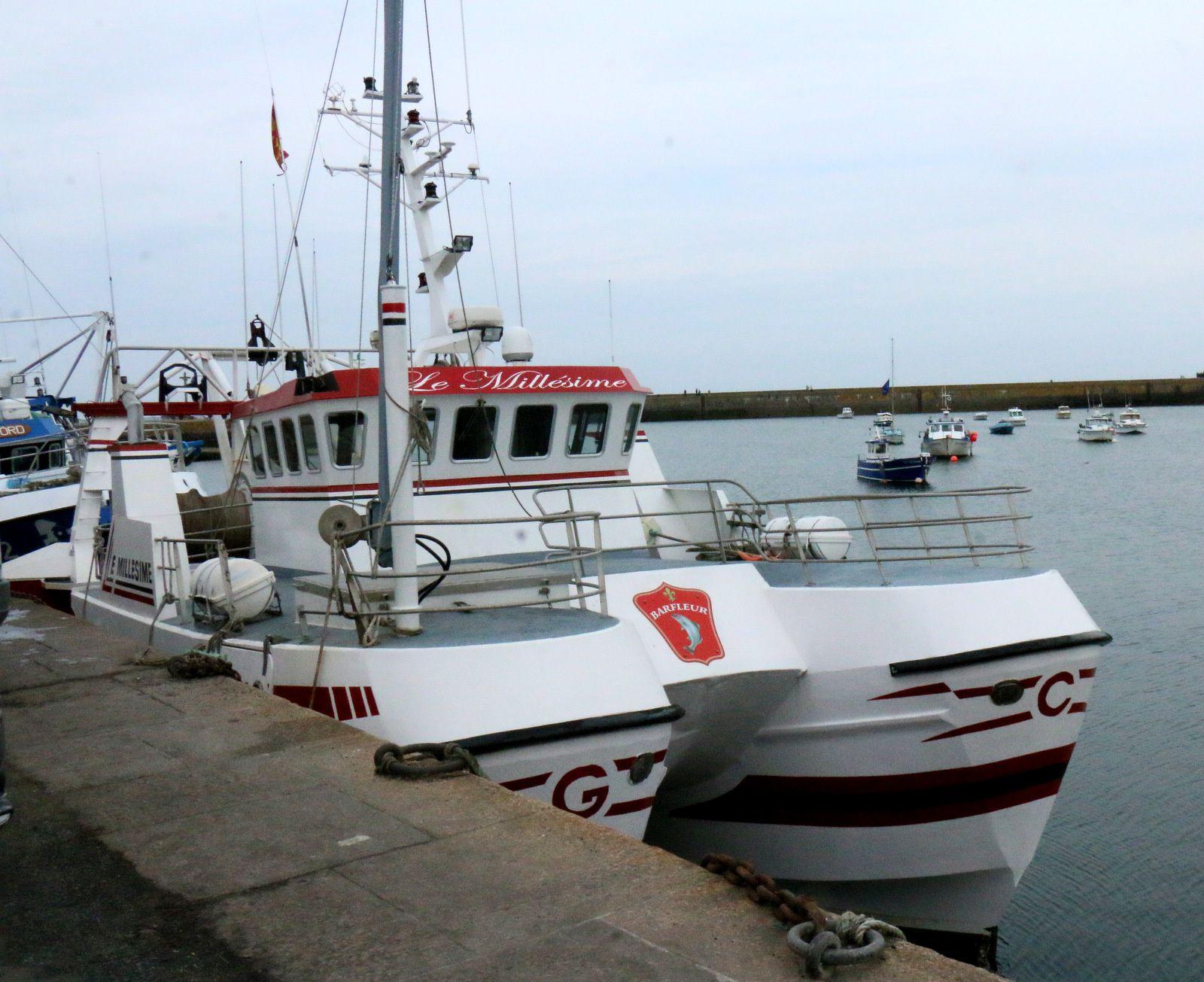 Le port de Barfleur