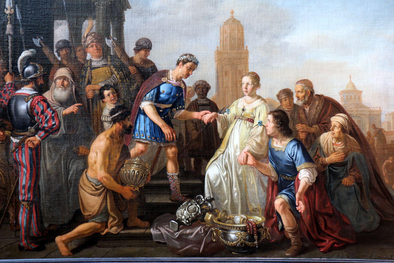 Continence de Scipion, tableau de Claes Cornelisz Moeyaert