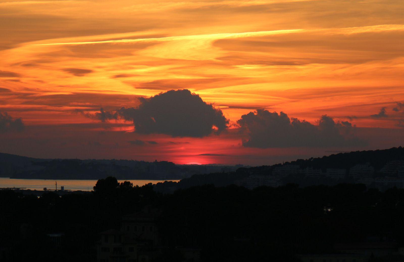 A bord du Costa Diadema, couchers de soleil