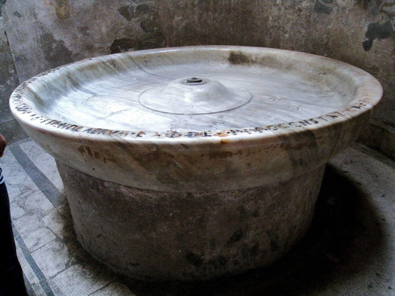 Les Thermes du Forum, Pompéi