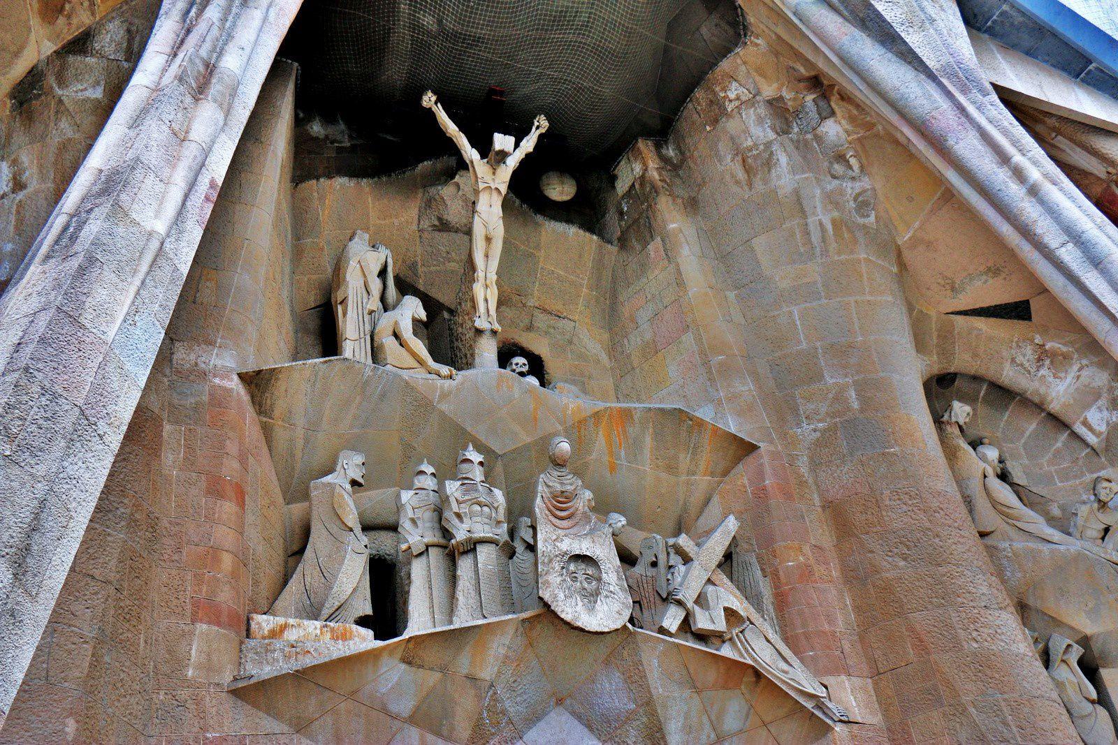 Sagrada Familia, la façade de la Passion