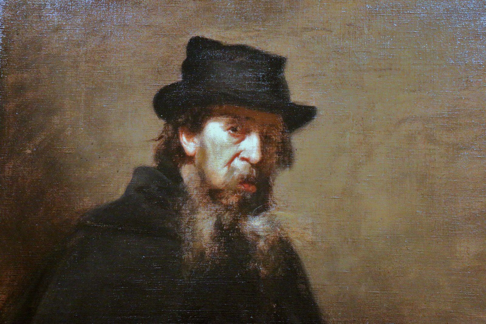 Le vieux lithographe, tableau de Carolus-Duran