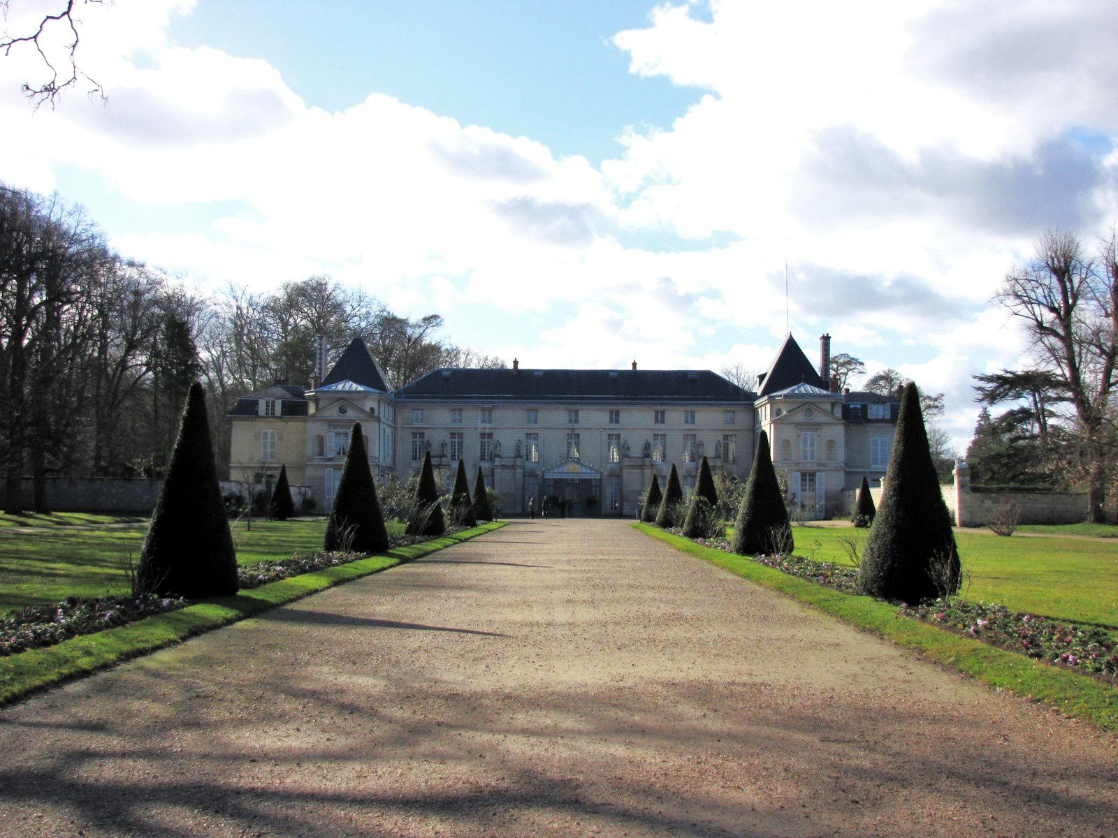 Les centaures du château de Malmaison