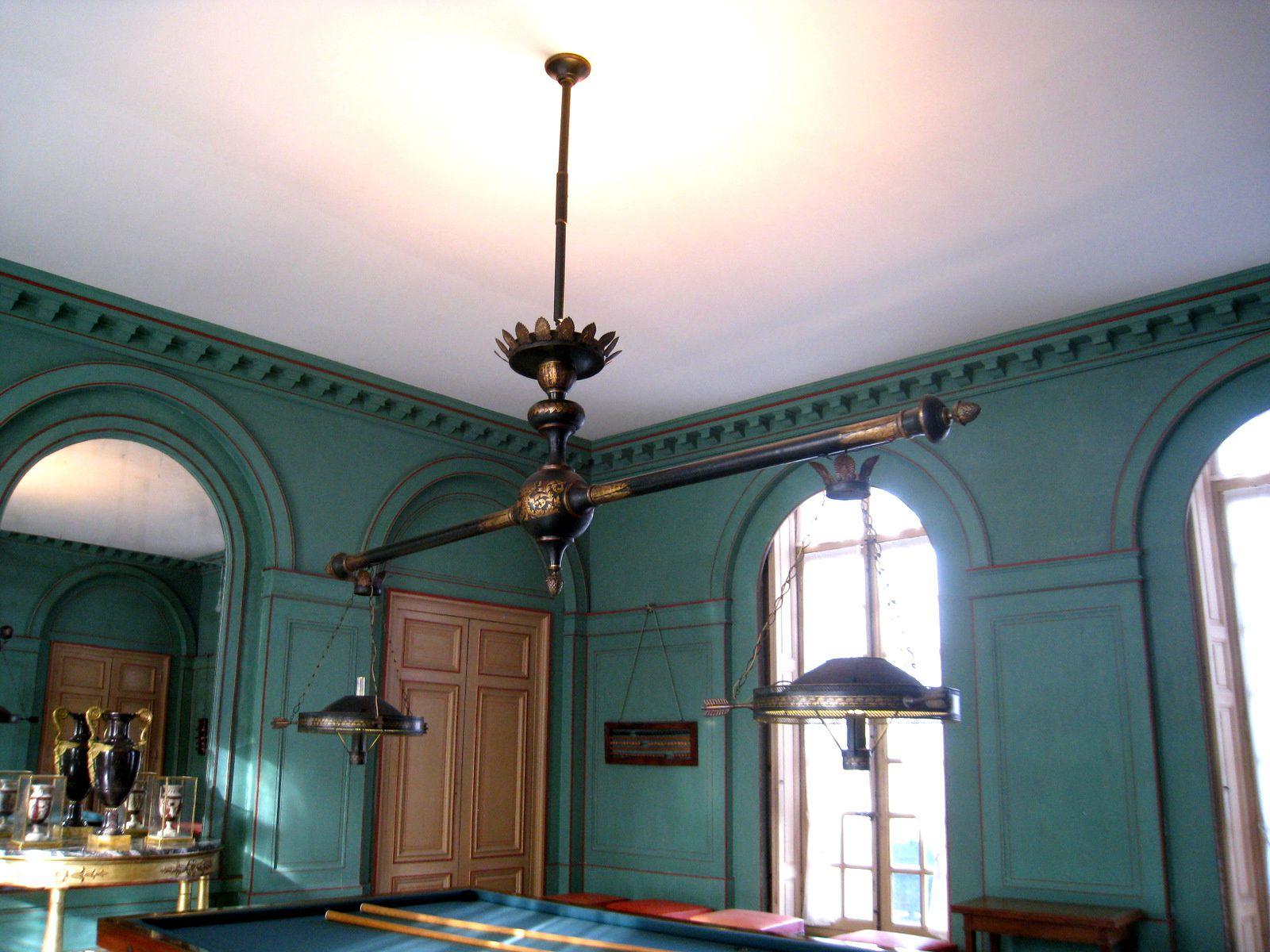Salle de billard du château de Malmaison