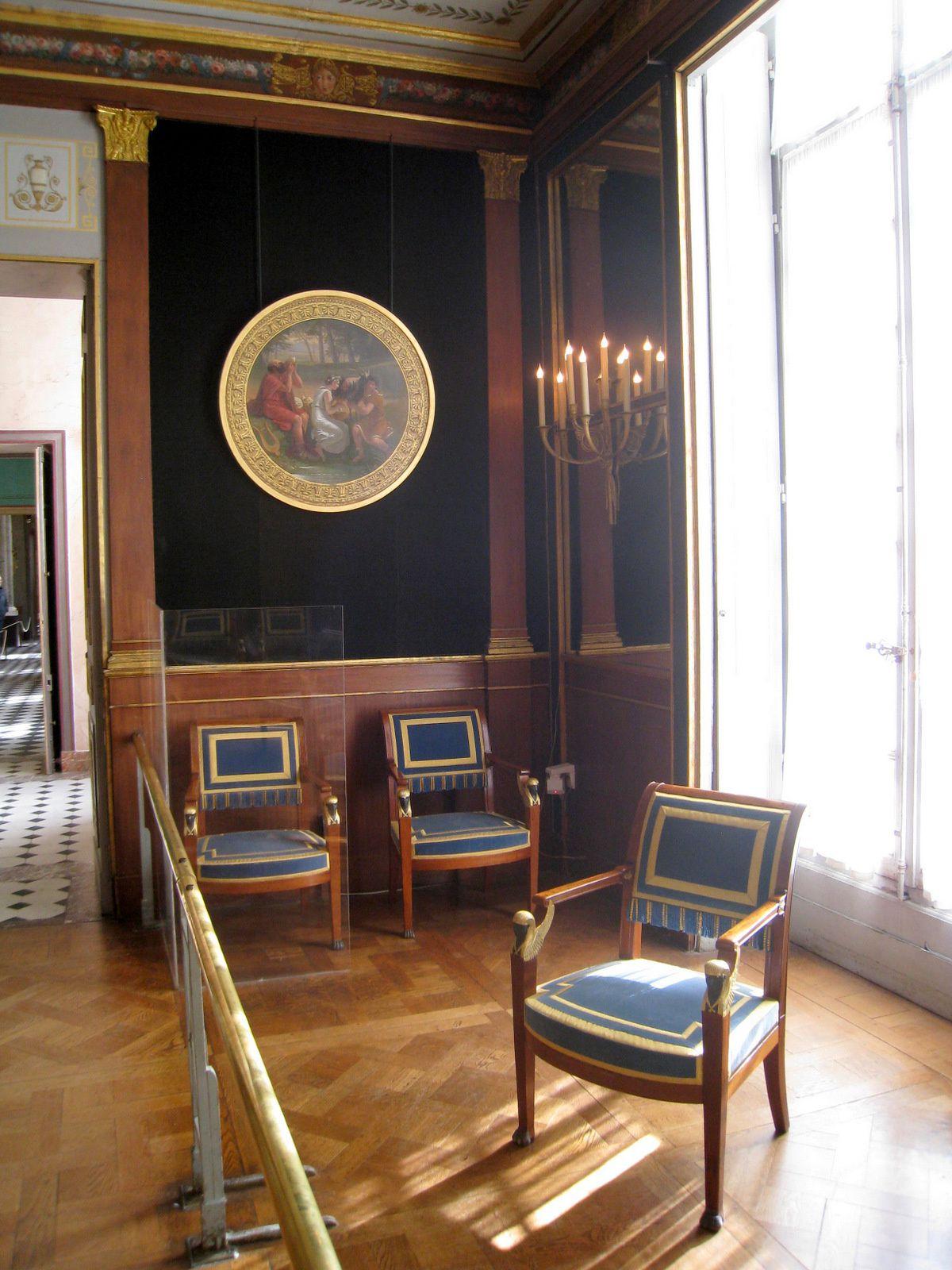 Le salon doré (3/3), château de Malmaison