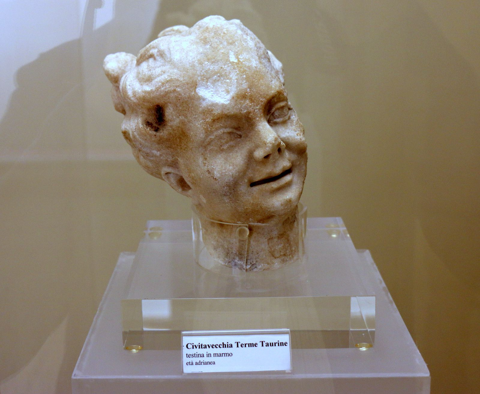 Statue d'Athéna Parthénos (Civitavecchia)