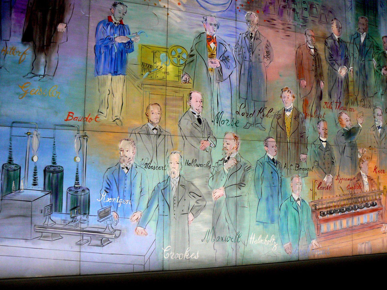 La Fée Electricité par Raoul dufy au musée d'Art moderne, Paris