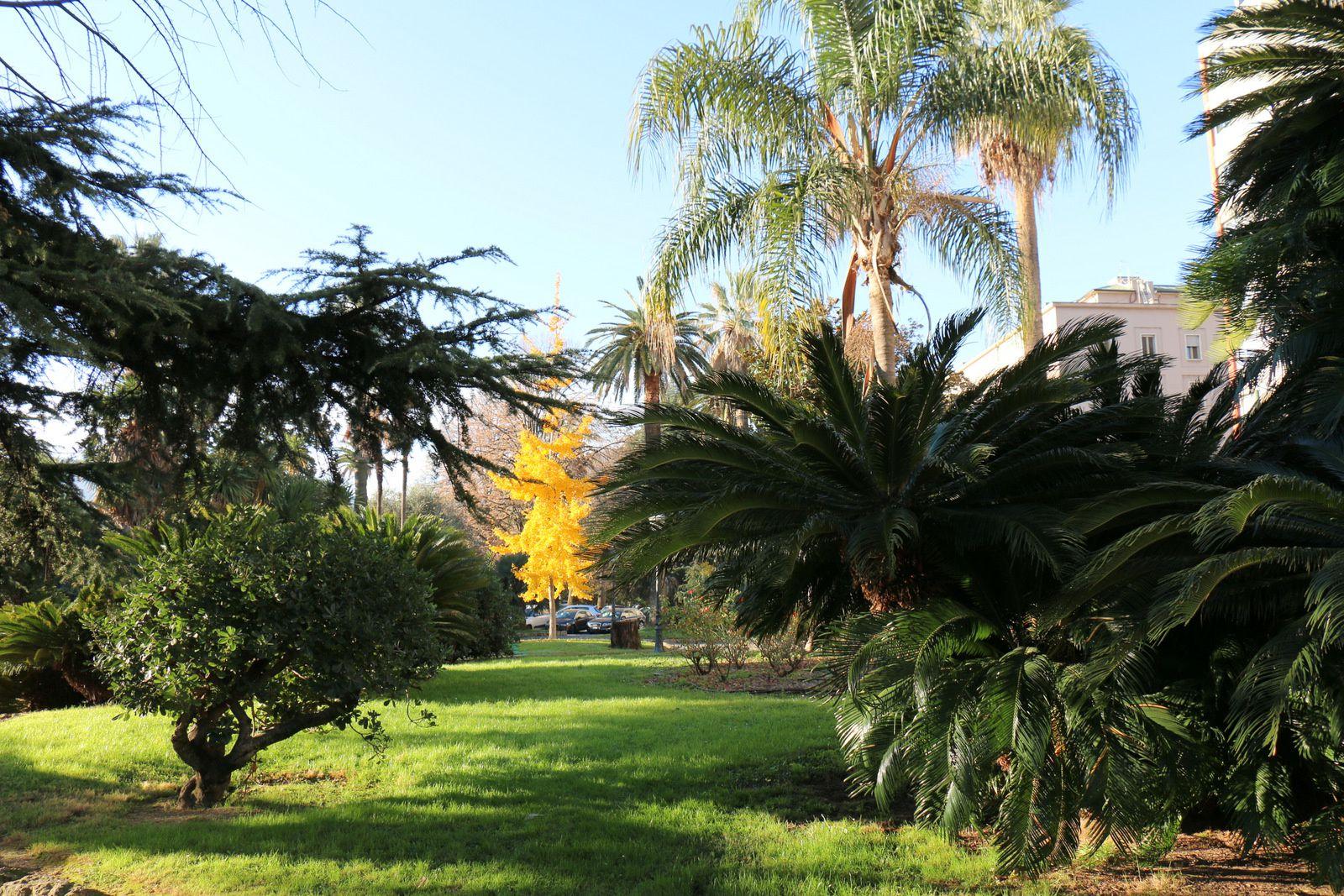 Espace vert à La Spezia