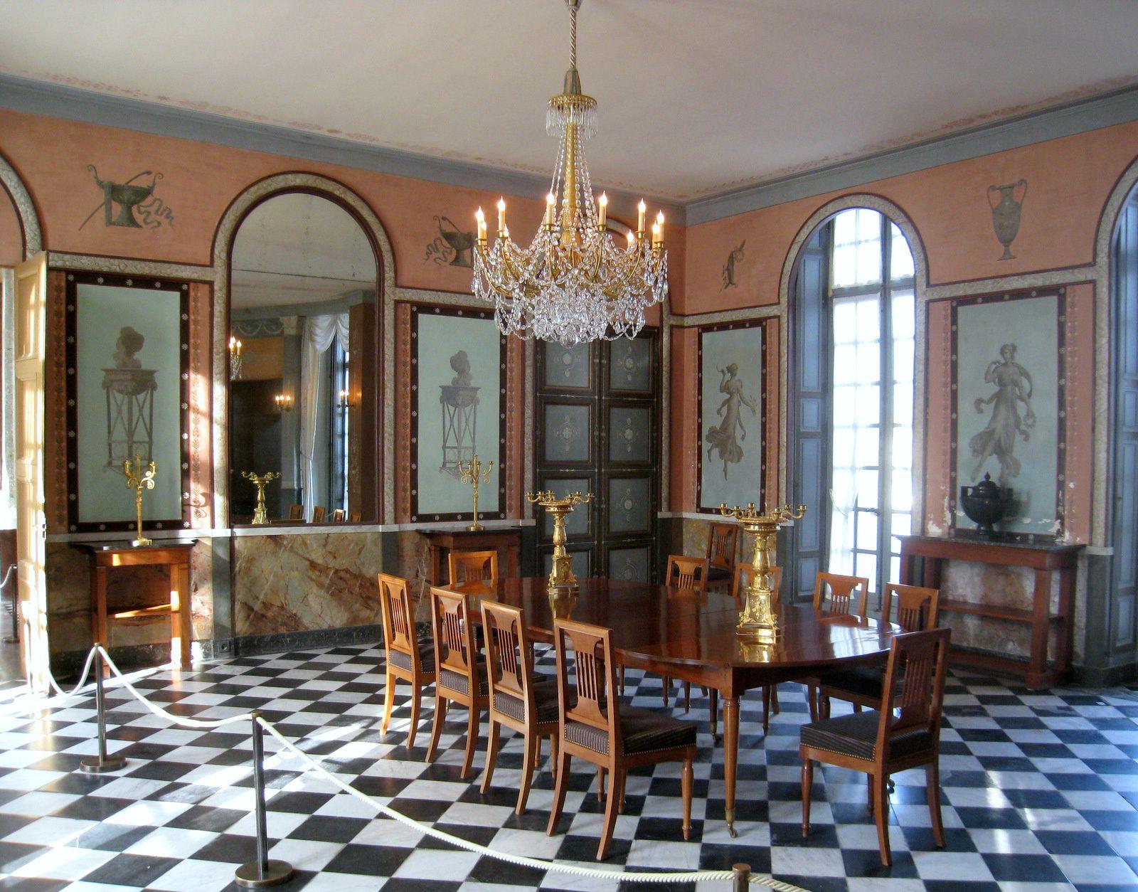 Salle à manger du château de Malmaison