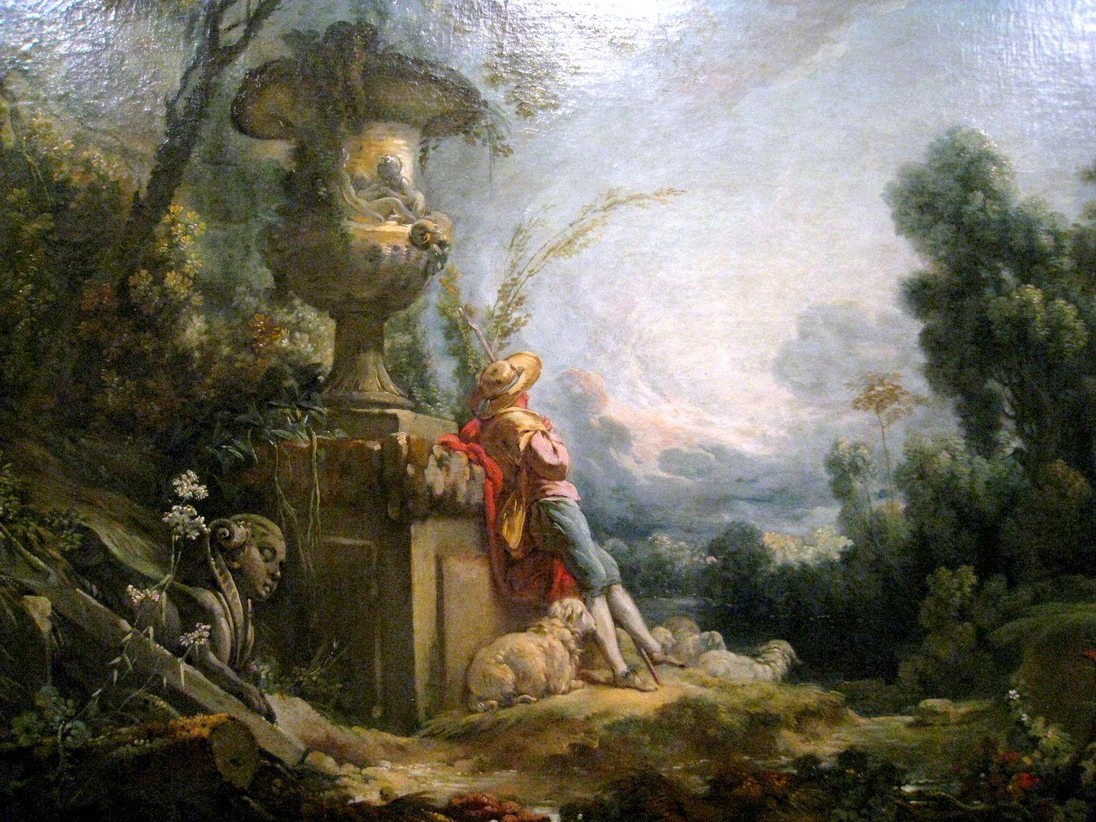 Pastorale par François Boucher