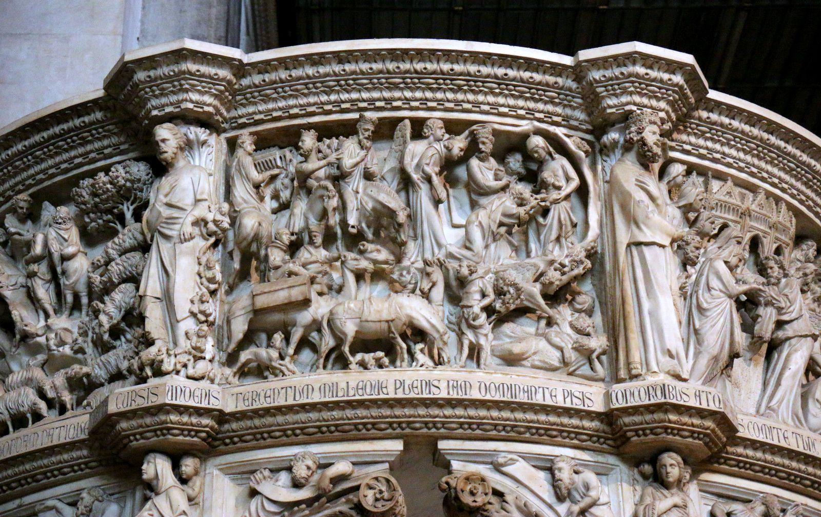La naissance de Jean-Baptiste, Le voyage des Mages