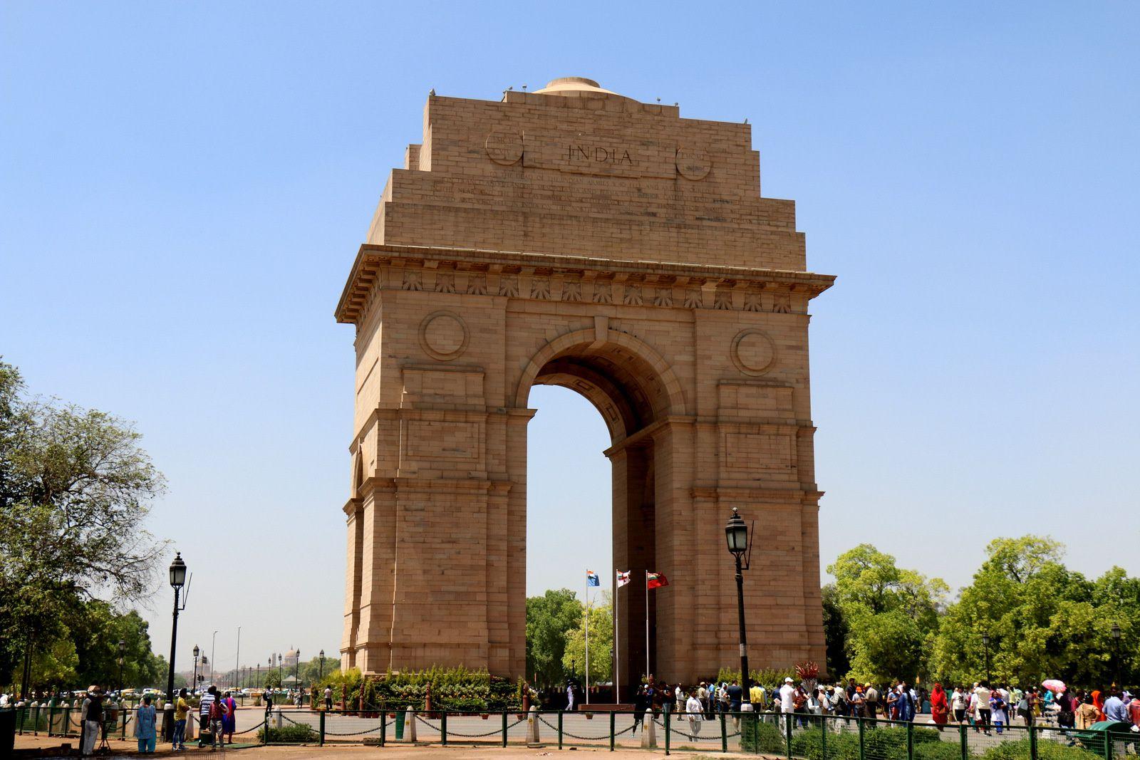 La porte de l'Inde, New Delhi