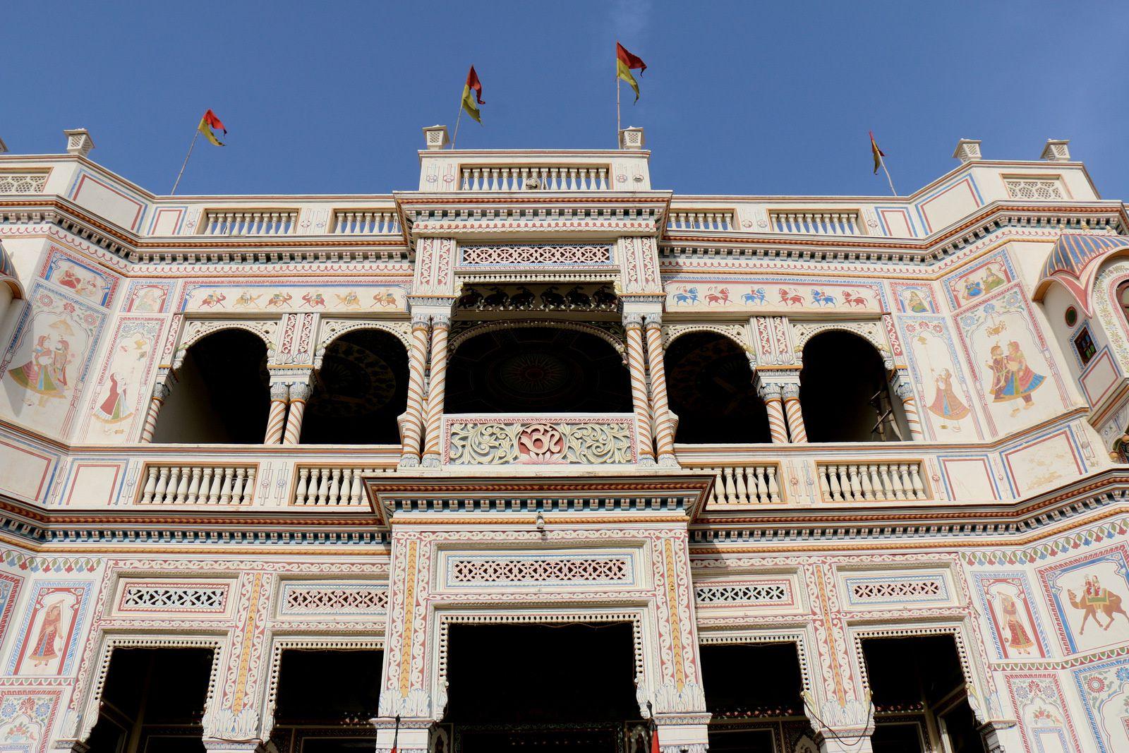 """Hôtel """"Heritage"""" à Mandawa, Rajasthan (Inde)"""