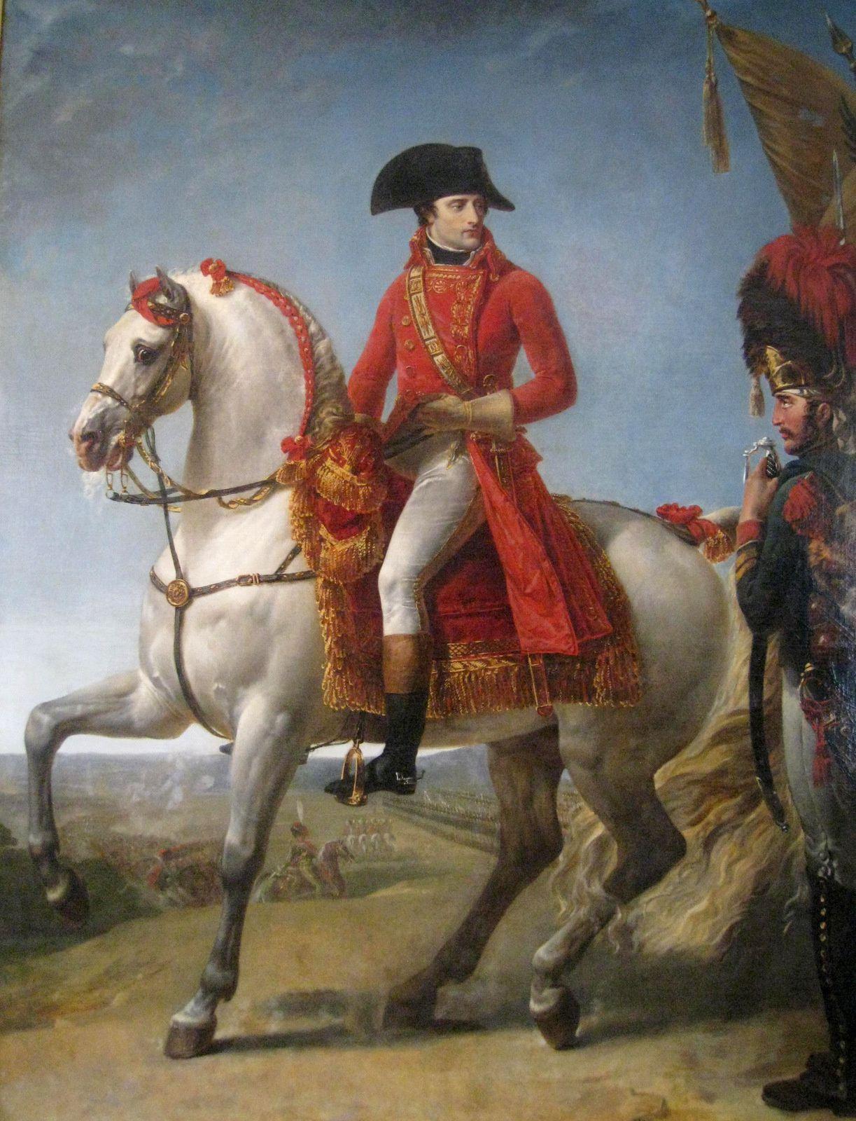 Antoine-Jean Gros,  Bonaparte (Premier consul) à Marengo